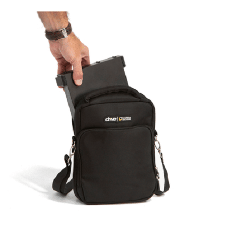 Flex Folding Scooter Battery Bag With Strap by Drive DeVilbiss