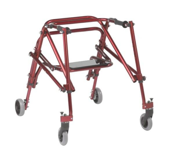 Nimbo 2G Posture Walker - Medium - With Seat by Drive DeVilbiss