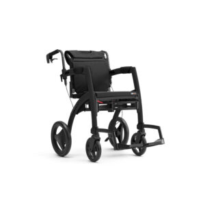 Rollz Motion 2 Rollator & Wheelchair - Matt Black