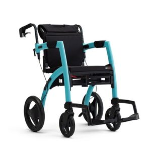 Rollz Motion 2 Rollator & Wheelchair - Island Blue