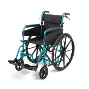 Days Healthcare - Escape Lite Self-Propelled Wheelchair - Racing Green
