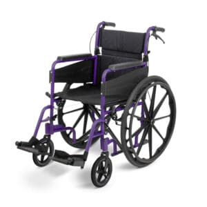 Days Healthcare Lite Self-Propelled Wheelchair - Purple