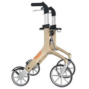 Trustcare Lets Fly Rollator - Champagne