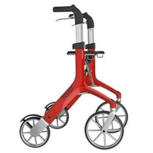 Trustcare Lets Fly Rollator - Red