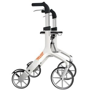 Trustcare Lets Fly Rollator - White