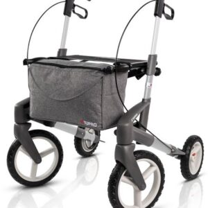 New Topro Olympos ATR Rollator, With Off-Road Wheels - Silver