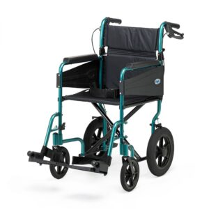 Days Healthcare Escape Lite Attendant-Propelled Wheelchair - Racing Green